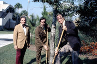 Tree planting at the West Campus